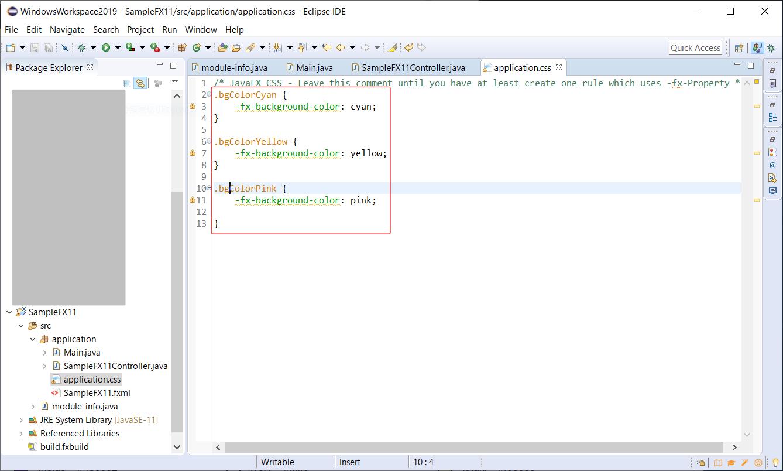 Javafx 12 Eclipse