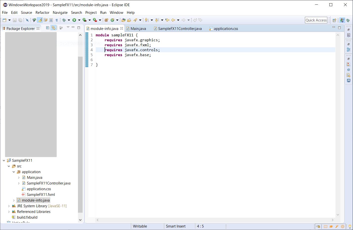 Scene Builder 11 | JavaFX アプリケーション
